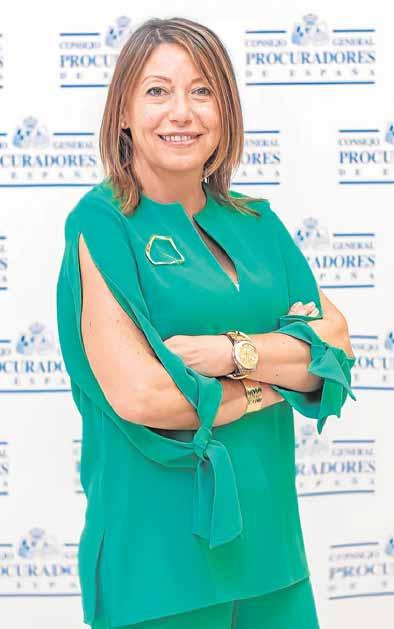 María Dolores Cantó, decana del Colegio de Procuradores de Murcia